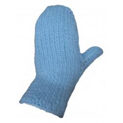 Ručně pletené rukavice GORO ORIGINÁL,5,Sv.modrá
